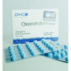 Оксандролон ZPHC (Oxandrolone) 50 таблеток (1таб 20 мг)