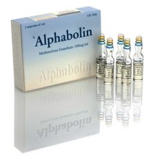 Alphabolin (Метенолон) Alpha Pharma 10 ампул по 1мл (1амп 100 мг)
