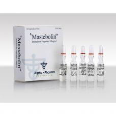 Mastebolin (Мастерон) Alpha Pharma 10 ампул по 1мл (1амп 100 мг)