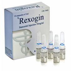 Rexogin (Станозолол, Винстрол) Alpha Pharma 10 ампул по 1мл (1амп 50 мг)
