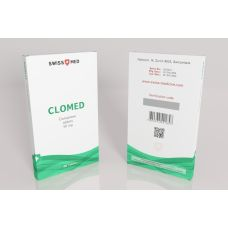 Кломид Swiss Med Clomed 50 таблеток (1таб 50мг)