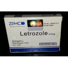 Летрозол ZPHC 50 таблеток (1таб 2.5 мг)