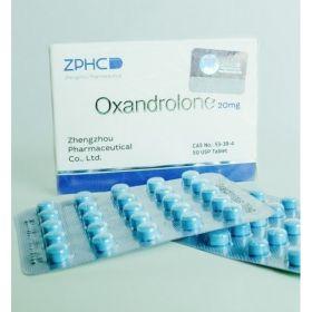Оксандролон ZPHC 50 таблеток (1таб 20 мг)