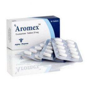 Экземестан Alpha Pharma (Aromex) 30 таблеток (1 таб 25 мг)