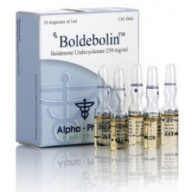 Болденон Alpha Pharma (Boldebolin) 10 ампул по 1мл (1амп 250 мг)