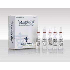 Мастерон Alpha Pharma (Mastebolin) 10 ампул по 1мл (1амп 100 мг)