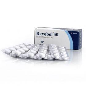 Станозолол Alpha Pharma (Rexobol) 50 таблеток (1таб 10 мг)
