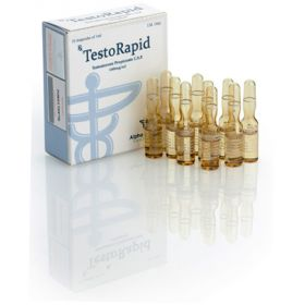 Тестостерон пропионат Alpha Pharma (TestoRapid) 10 ампул по 1мл (1амп 100 мг)