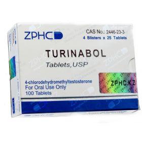 Туринабол ZPHC 100 таблеток (1таб 10 мг)