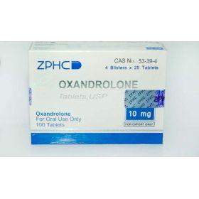 Оксандролон ZPHC 100 таблеток (1таб 10 мг)